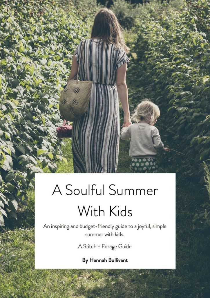 a soulful summer with kids
