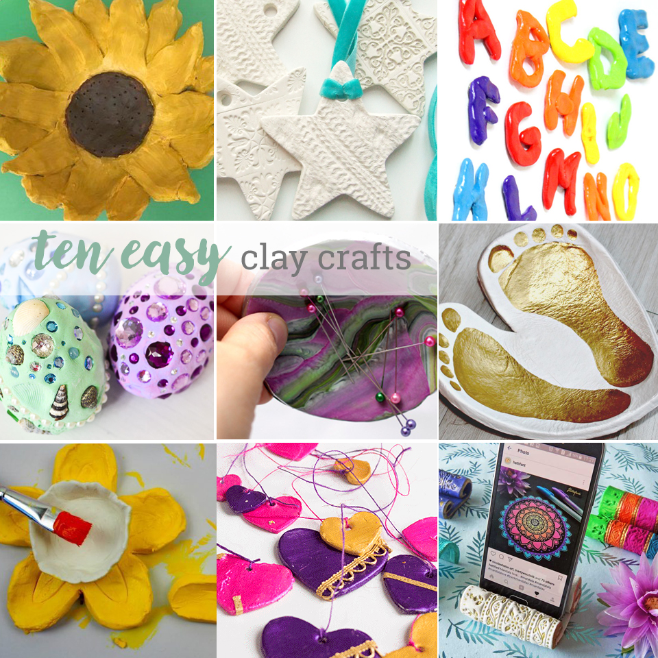 10 great clay crafts