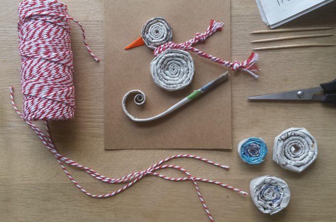 newspaper-spirals-craft-penguin-square-flatlay
