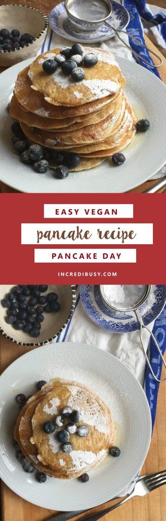 vegan pancakes for pinterest