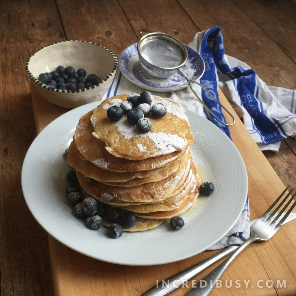 How to make pancakes no scales howsto co for Pomegranate molasses sainsburys