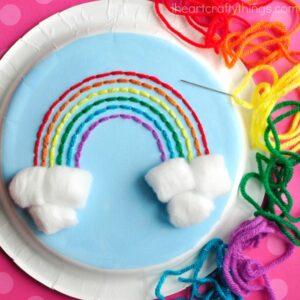 rainbow stitch