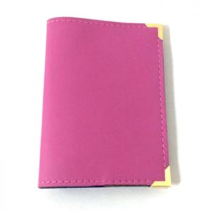 Aura Passport Holder Fuschia Pink