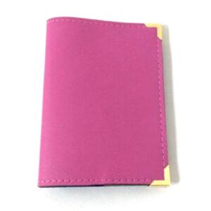 Aura Passport Holder Fuschia Pink
