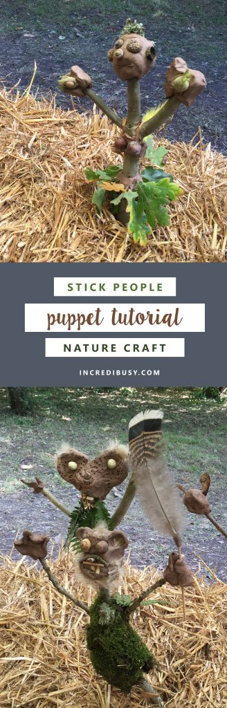stick craft woodland puppet