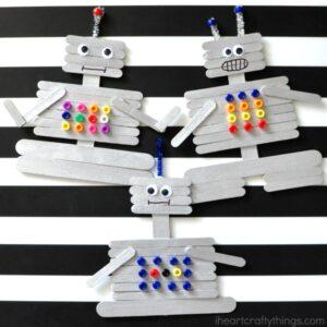 iheartcraftythings_craft-stick-robot-craft