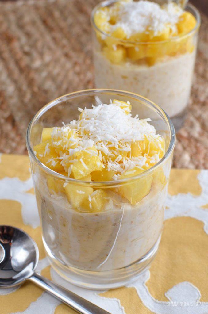 pinacolada overnight oats
