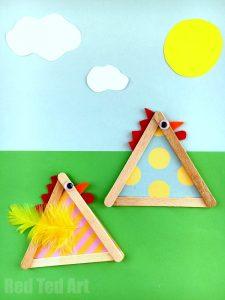 redtedart Craft-Stick-Chicks