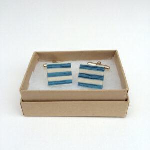 ceramic cufflinks