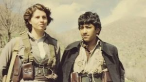 Diana as a teenager in Iran