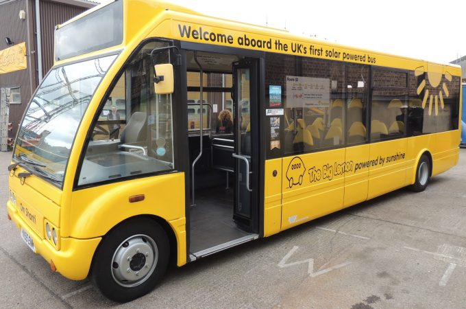 the big lemon electric bus