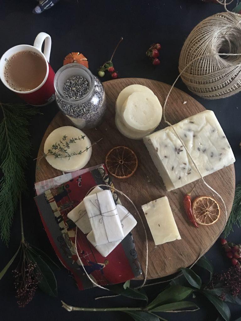 making soap palava