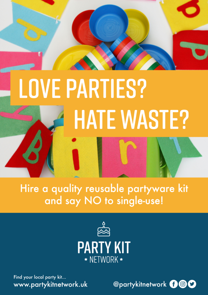 Zero-waste party kits