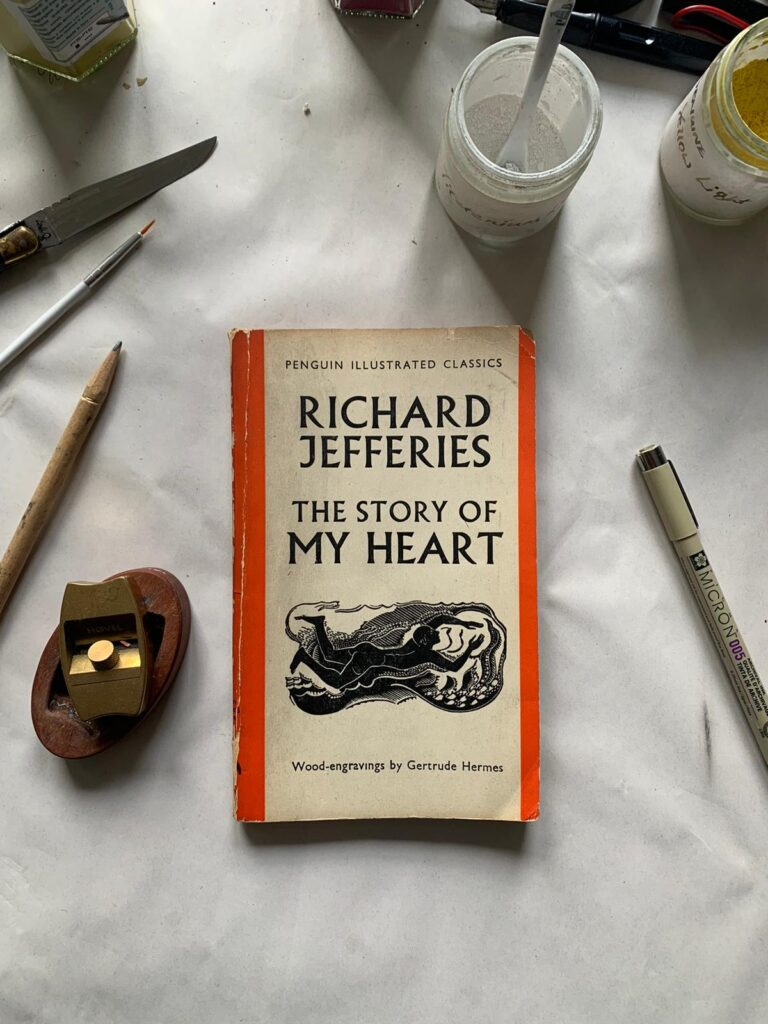 Richard Jefferies The Story of My Heart with woodcut illustrations by Gertrude Hermes