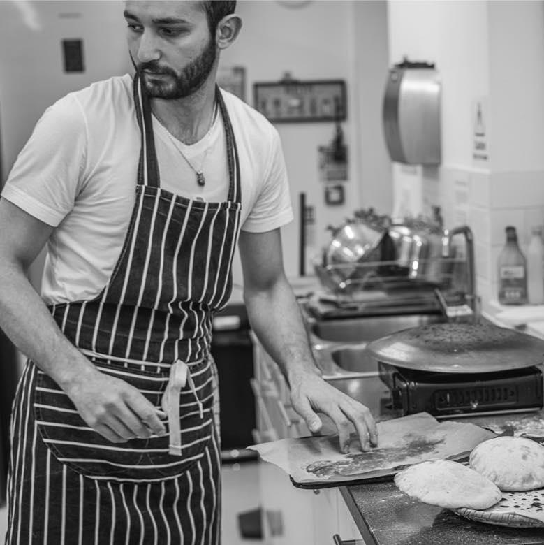 Faraj in the Kitchen, photo by Dani Oliver